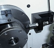 tool sensor mounted in a CNC machine